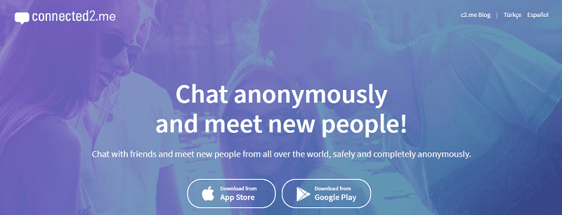 Connected2.me Anonymous Chat Apps
