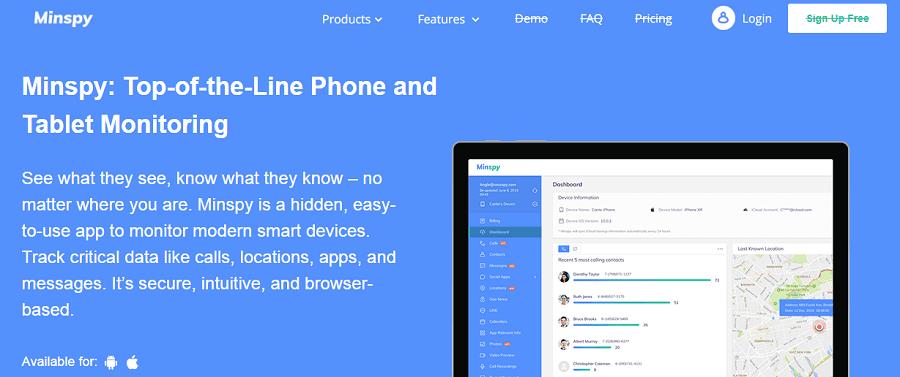 MinSpy Keylogger For Android