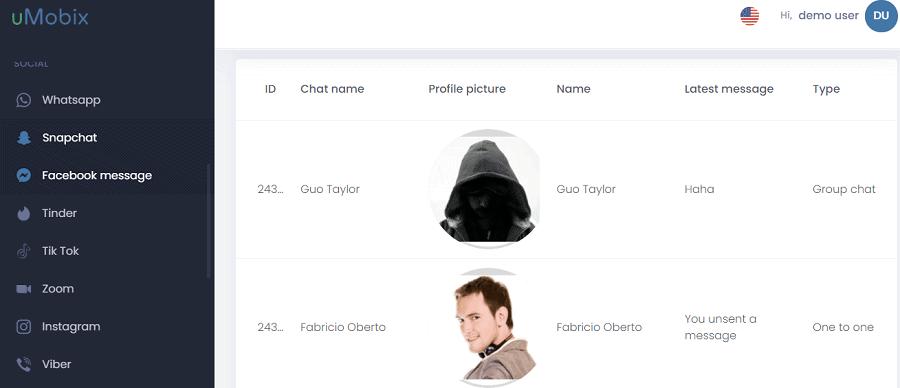 uMobix Keylogger For Android